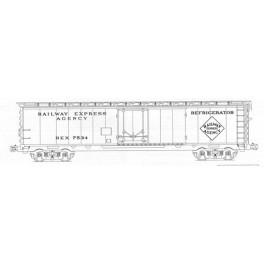 KOMAR HO-204 - RAILWAY EXPRESS AGENCY 50'  REEFER