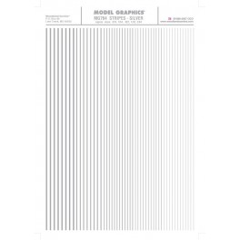WOODLAND MG764 - STRIPES - SILVER