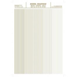 WOODLAND MG761 - STRIPES - GOLD