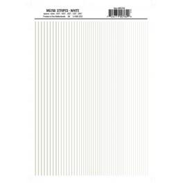 WOODLAND MG760 - STRIPES - WHITE