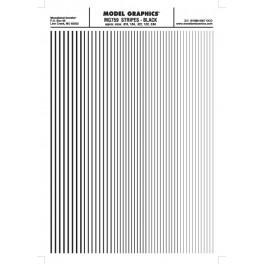 WOODLAND MG759 - STRIPES - BLACK