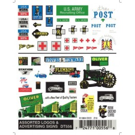 WOODLAND DT556 - LOGOS & ADVERTISING SIGNS
