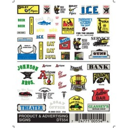 WOODLAND DT554 - PRODUCT & ADVERTISING SIGNS
