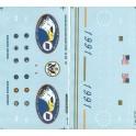 MICROSCALE DECAL 48-115 - BURLINGTON NORTHERN  DIESEL LOCOMOTIVES - O SCALE