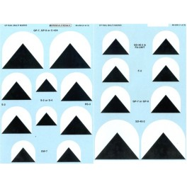 MICROSCALE DECAL 48-258 - CANADIAN PACIFIC DIESEL LOCOMOTIVE MULTIMARKS - O SCALE