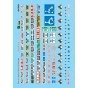 MICROSCALE DECAL 48-503 - INDUSTRIAL WARNING SIGNS - O SCALE