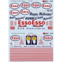 MICROSCALE DECAL 48-542 - ESSO SERVICE STATION - O SCALE