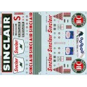 MICROSCALE DECAL 48-552 - SINCLAIR SERVICE STATION - O SCALE