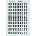 MICROSCALE DECAL 48-650 - ACI LABELS - O SCALE
