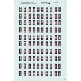 MICROSCALE DECAL 48-650 - ACI LABELS - O SCALE