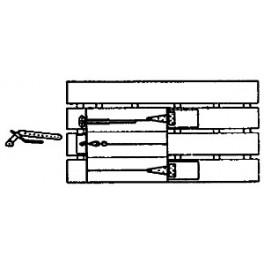 GRANDT LINE 14 - REEFER ICE HATCH PLATFORM SET