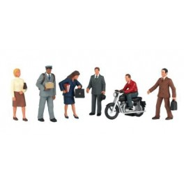 BACHMANN 33151 O SCALE PAINTED FIGURES - CITY PEOPLE