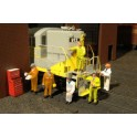 BACHMANN 33163 O SCALE PAINTED FIGURES - MECHANICS
