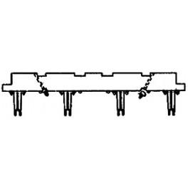 GRANDT LINE 119 - D&RGW HIGH SIDE GONDOLA NEEDLEBEAM