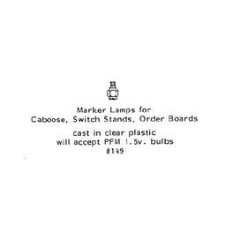 GRANDT LINE 149 - MARKER LAMPS - O SCALE