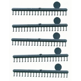 """GRANDT LINE 157 - CONICAL HEAD RIVETS - .063"""" - O SCALE"""