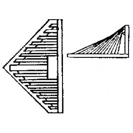 GRANDT LINE 159 - SMALL LOCOMOTIVE PILOT - O SCALE