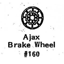 GRANDT LINE 160 - AJAX BRAKEWHEEL - O SCALE