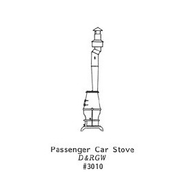 GRANDT LINE 3010 - PASSENGER CAR STOVE