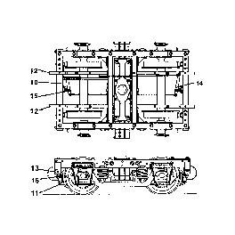 GRANDT LINE 3057 - D&RGW PASSENGER CAR TRUCK BRAKE SET - O SCALE