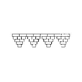 GRANDT LINE 3504 - BRICK CORNICE - O SCALE