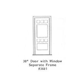 """GRANDT LINE 3601 - 30"""" DOOR WITH WINDOW - SEPARATE FRAME"""
