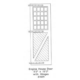 """GRANDT LINE 3609 - ENGINE HOUSE DOOR - 5'1/2"""" x 15'3"""" WITH HINGES"""
