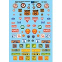 MICROSCALE DECAL 60-422 - COMMERCIAL SIGNS - N SCALE
