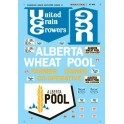MICROSCALE DECAL 60-866 - CANADIAN GRAIN ELEVATOR SIGNS