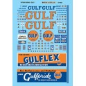 MICROSCALE DECAL 60-902 - GULF GAS STATION SIGNS - N SCALE