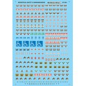 MICROSCALE DECAL 60-924 - INDUSTRIAL SAFETY & WARNING SIGNS