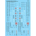 MICROSCALE DECAL 87-739 - NORTH AMERICAN CHEMICAL HOPPERS - HO SCALE