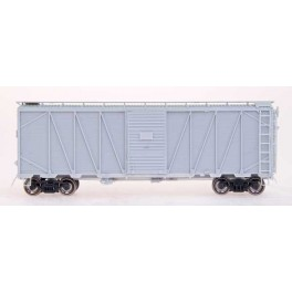 INTERMOUNTAIN 41071 - UNDECORATED KIT - WAR EMERGENCY 40' BOXCAR - VIKING ROOF