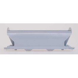 INTERMOUNTAIN 41599 - UNDECORATED KIT - ACF 2 BAY CENTER-FLOW COVERED HOPPER - HO SCALE