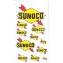 SCALE SIGNS - SUNO-1 - SUNOCO GAS STATION SIGNS - HO SCALE
