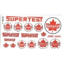 SCALE SIGNS - SUPR-1 - SUPERTEST GAS STATION SIGNS - HO SCALE