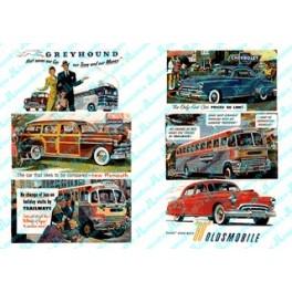JL INNOVATIVE - 172 - AUTOMOTIVE & TRANSPORTATION BILLBOARD SIGNS - 1940s-1950s