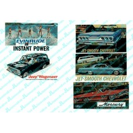 JL INNOVATIVE - 174 - AUTOMOTIVE BILLBOARD SIGNS - 1960s