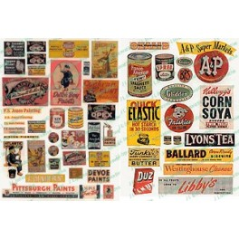 JL INNOVATIVE - 178 - PAINT & CONSUMER SIGNS - 1940s-1950s