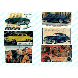 JL INNOVATIVE - 188 - AUTOMOBILE BILLBOARDS 1940s - HO SCALE