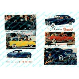 JL INNOVATIVE - 189 - AUTOMOBILE BILLBOARDS 1940s