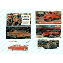 JL INNOVATIVE - 192 - AUTOMOBILE BILLBOARDS 1950s