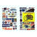 JL INNOVATIVE - 204 - MOTORCYCLE / AUTOMOBILE SIGNS 1900s - 1960s - HO SCALE