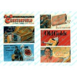 JL INNOVATIVE - 212 - VINTAGE TOBACCO BILLBOARDS 1930s - 1960s