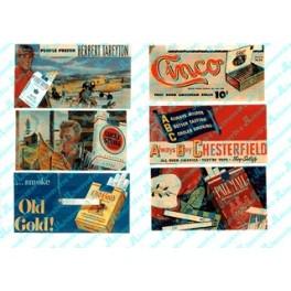JL INNOVATIVE - 213 - VINTAGE TOBACCO BILLBOARDS 1930s - 1960s