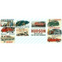 JL INNOVATIVE - 226 - AUTOMOTIVE & TRANSPORTATION BILLBOARD SIGNS - 1940s - 1960s - N SCALE
