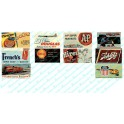 JL INNOVATIVE - 227 - CONSUMER BILLBOARDS 1940s - 1960s - N SCALE