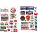 JL INNOVATIVE - 235 - STANDARD GAS STATION SIGNS - HO SCALE