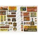 JL INNOVATIVE - 238 - RICHFIELD GAS STATION SIGNS - HO SCALE