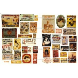 JL INNOVATIVE - 265 - TURN OF THE CENTURY SIGNS - 1890s TO 1920s